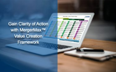 Gain Clarity of Action with MergerMax(TM) Value Creation Framework