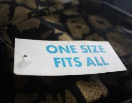 One-size-fits-all tag